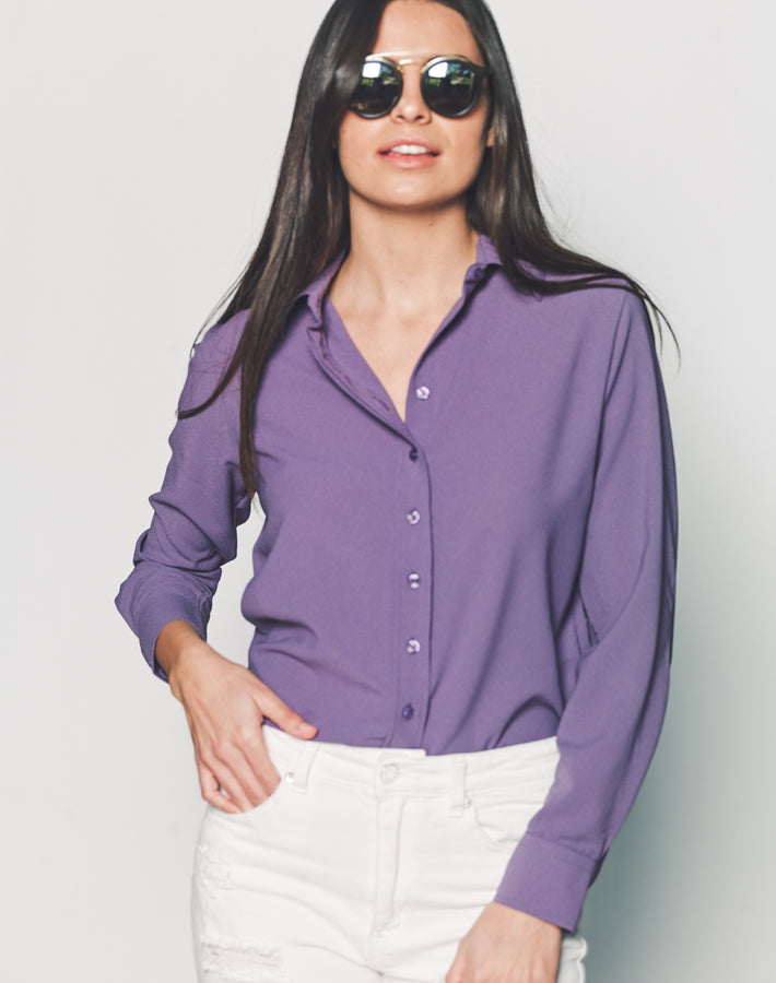 Womens Violet The Signature Shirt