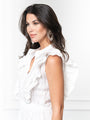 Womens White Eyelet THE STELLA DRESS 2