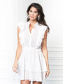 Womens White Eyelet THE STELLA DRESS