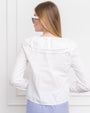 Womens White The Amalia Shirt 2