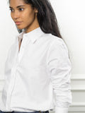 Womens White The Boyfriend Shirt 4