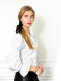 Womens White The Juliet Shirt 4
