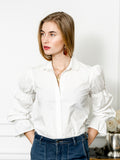 Womens White The Juliet Shirt 7
