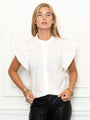 Womens White The Spring Shirt
