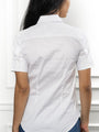 Womens White The Short Sleeve Shirt 2