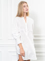 Womens White The Isabel Shirt Dress 2