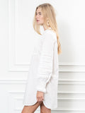 Womens White The Isabel Shirt Dress 4