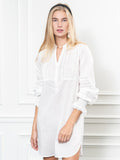 Womens White The Isabel Shirt Dress 5