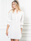 Womens White The Isabel Shirt Dress 7