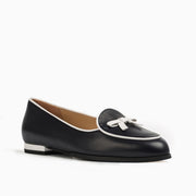 Jon Josef Belgica Loafer in Navy Leather