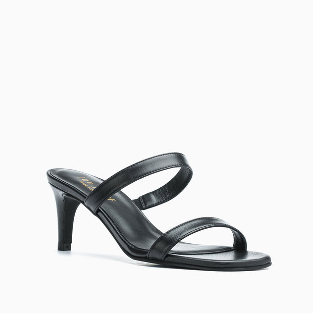 Jon Josef Carla Sandal in Black Leather