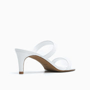 Jon Josef Carla Sandal in White Leather