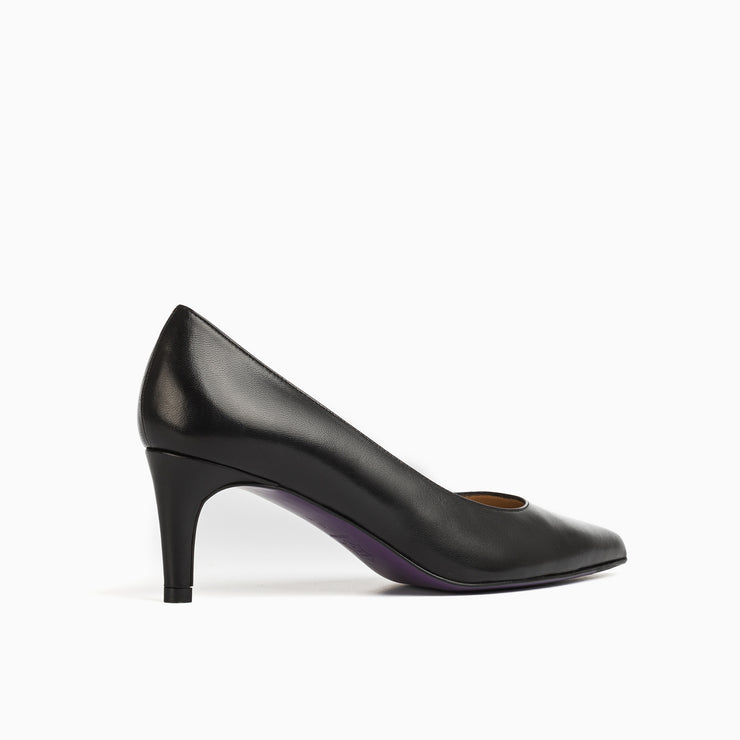 Jon Josef Carlie Pump in Black Leather