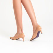 Jon Josef Carlie Pump in Nude Leather