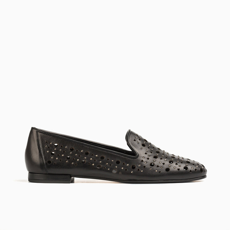 Jon Josef Gatsby Godela Flat in Black Leather
