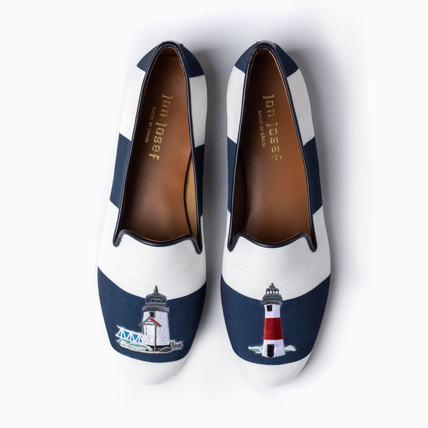 Jon Josef Gatsby Lighthouse Flat in Navy Kodak