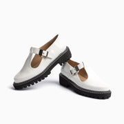 Jon Josef Girl Mary Jane in White Patent