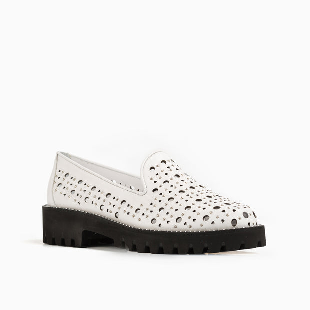 Jon Josef Gogo-Godela Lug Shoe in White Leather