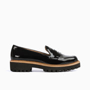 Jon Josef Gogo-Penny Loafer in Black Patent