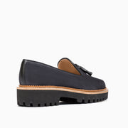 Jon Josef Gogo Lug Shoe in Grey Suede