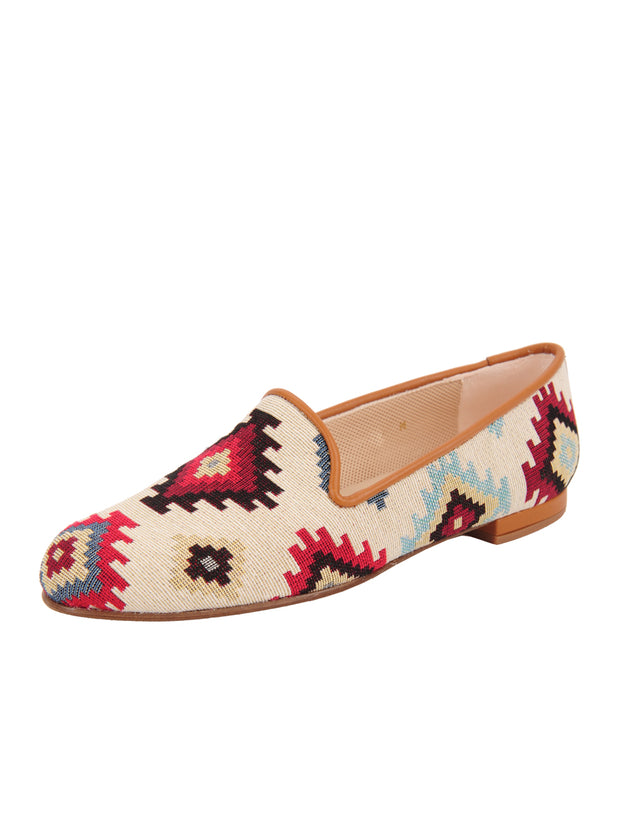 Women's Tan Aztec Loafer Full