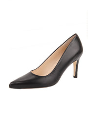Black Pointed Toe Heel Full