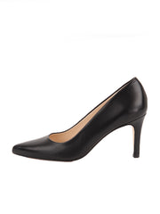 Black Pointed Toe Heel Side  6