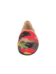 Women's Nuetral Camoflage Loafer Front 4