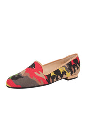 Women's Nuetral Camoflage Loafer Full