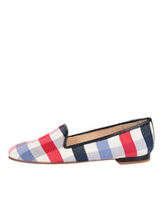 Women's Plaid Summer Loafer Side 6