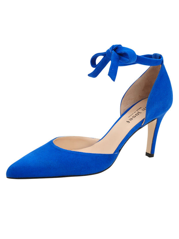 Womens Azul Fluo Suede Lazada Suede Pointed Toe Pump