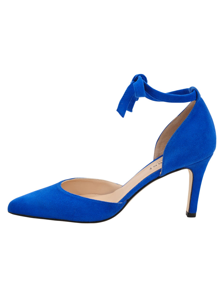 Womens Azul Fluo Suede Lazada Suede Pointed Toe Pump 6