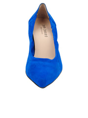 Womens Azul Fluo Suede Party Rock And Roll Pump 5
