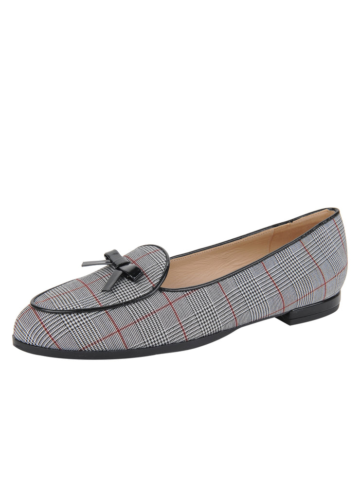 Womens BARRIE/BLACK PATENT BELGICA LOAFER