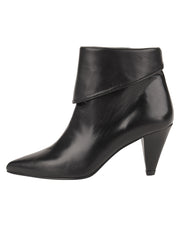Womens Black Leather ELBA CONVERTIBLE ANKLE BOOTIE 6
