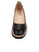 Womens Black Leather Katie Lug Pump 4 Alternate View