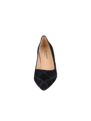 Womens Black/Navy High Heel Pump 4