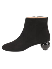 Womens Black Suede DENIA SUEDE BOOTIE 6
