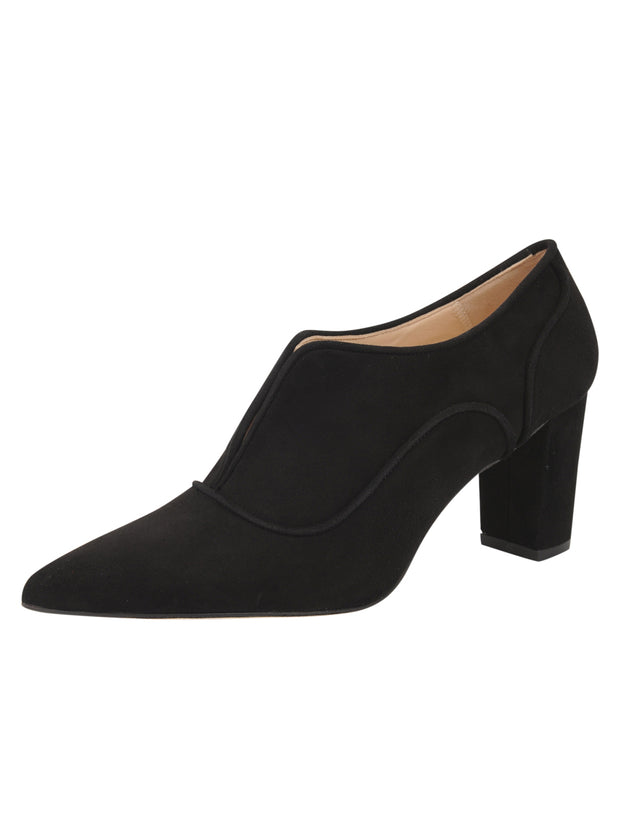 Womens Black Suede Pump