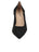Womens Black Suede Party Rock And Roll Pump 4 Alternate View
