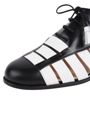 Womens Black/White Talk 6