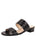Womens Black Dorothy Slide Sandal