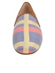Womens Calgary Gatsby Plaid Flat 5