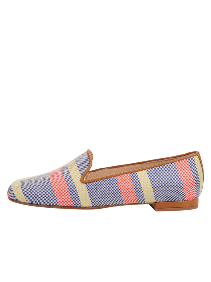 Womens Calgary Gatsby Plaid Flat 6