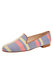 Womens Calgary Gatsby Plaid Flat
