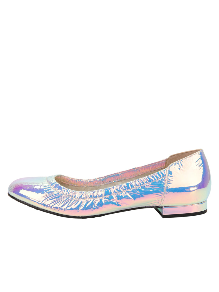 Womens Cioccolatino Argento Maya Rock And Roll Flat 6