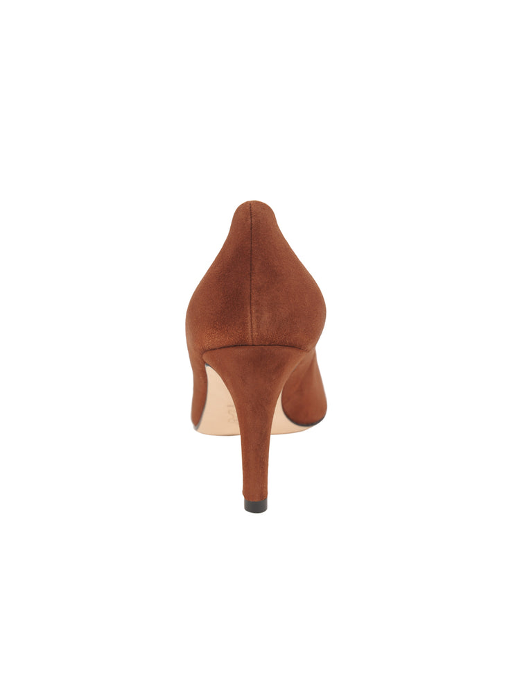 Womens Cuoio Suede High Heel Pump 2