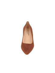 Womens Cuoio Suede High Heel Pump 4