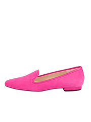 Womens Fuschia Suede Pluto Loafer 6