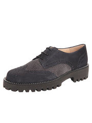 Womens Grey Combo Lug Shoe